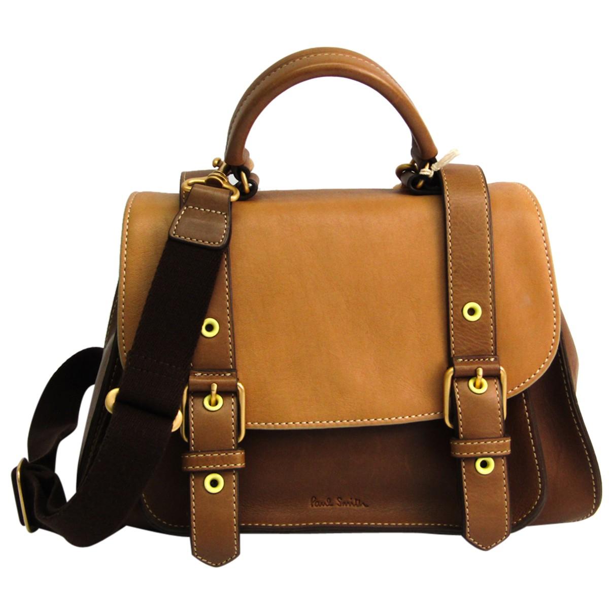 Paul Smith \N Handtasche in  Braun Leder