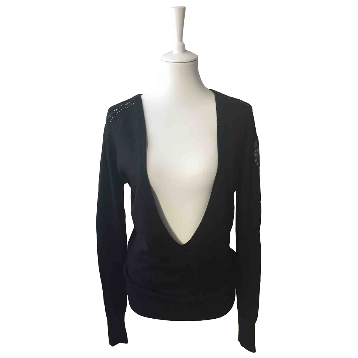 Faith Connexion \N Black Cotton Knitwear for Women S International