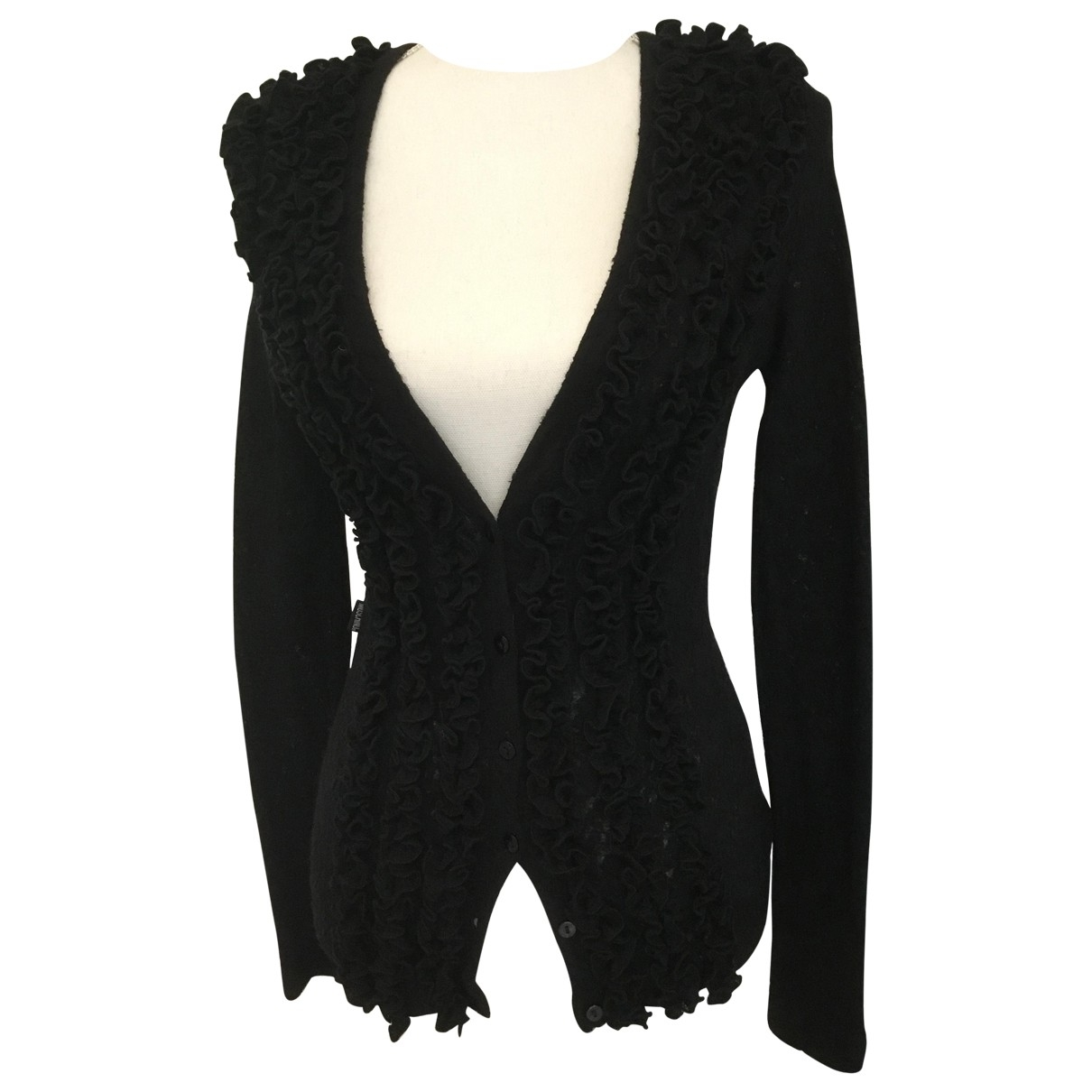 Moschino Cheap And Chic \N Black Wool Knitwear for Women 44 IT