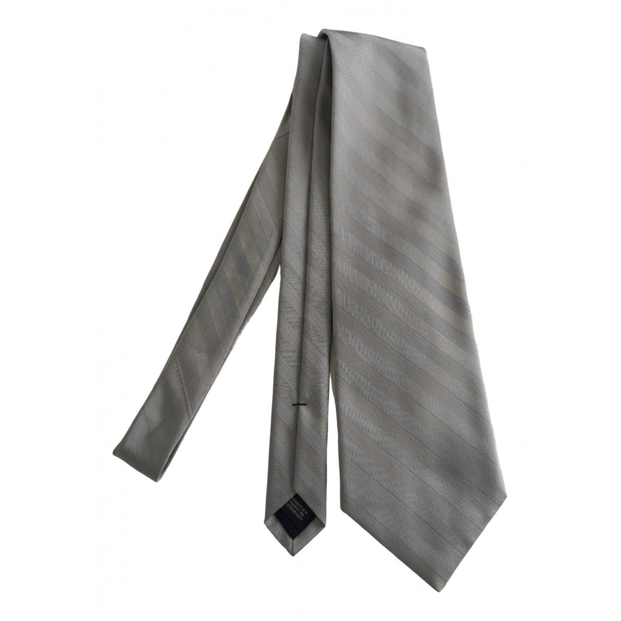 Polo Ralph Lauren \N Grey Silk Ties for Men \N