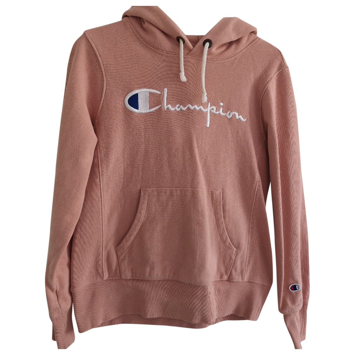 Champion \N Pullover in  Rosa Baumwolle
