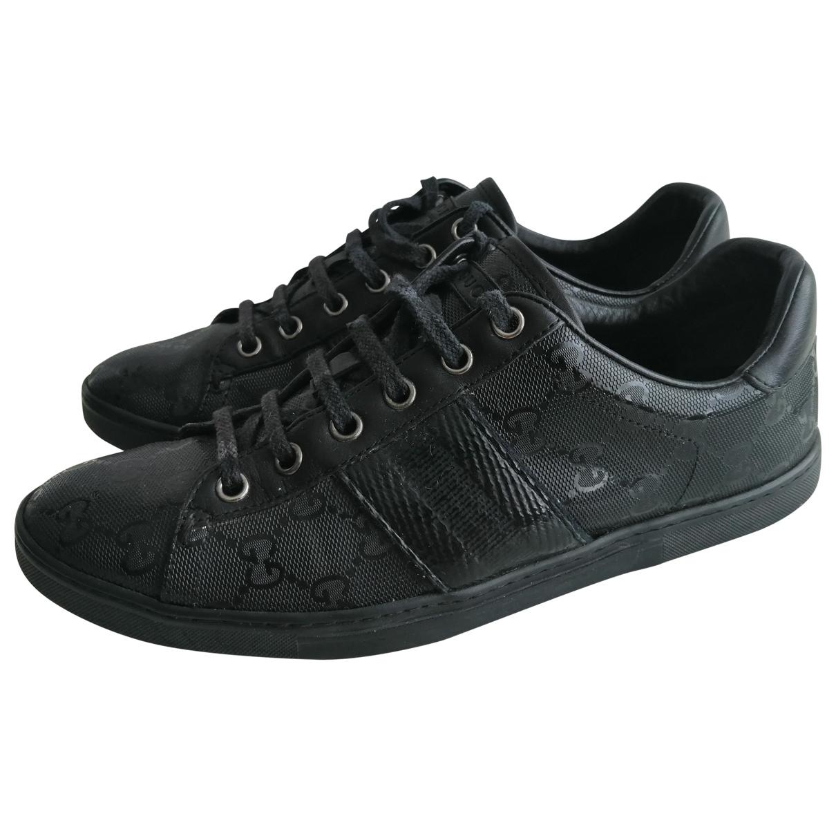 Gucci \N Sneakers in  Schwarz Kunststoff