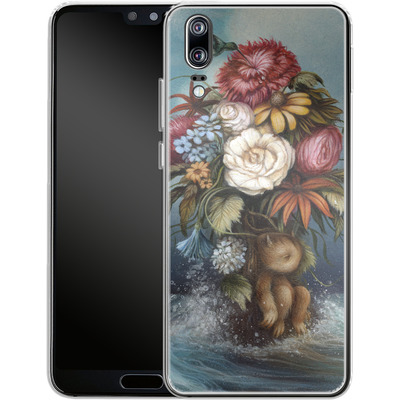 Huawei P20 Silikon Handyhuelle - Hopeless Romantic von Dan May
