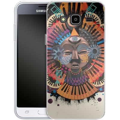 Samsung Galaxy J3 (2016) Silikon Handyhuelle - Contretemp von Victoria Topping