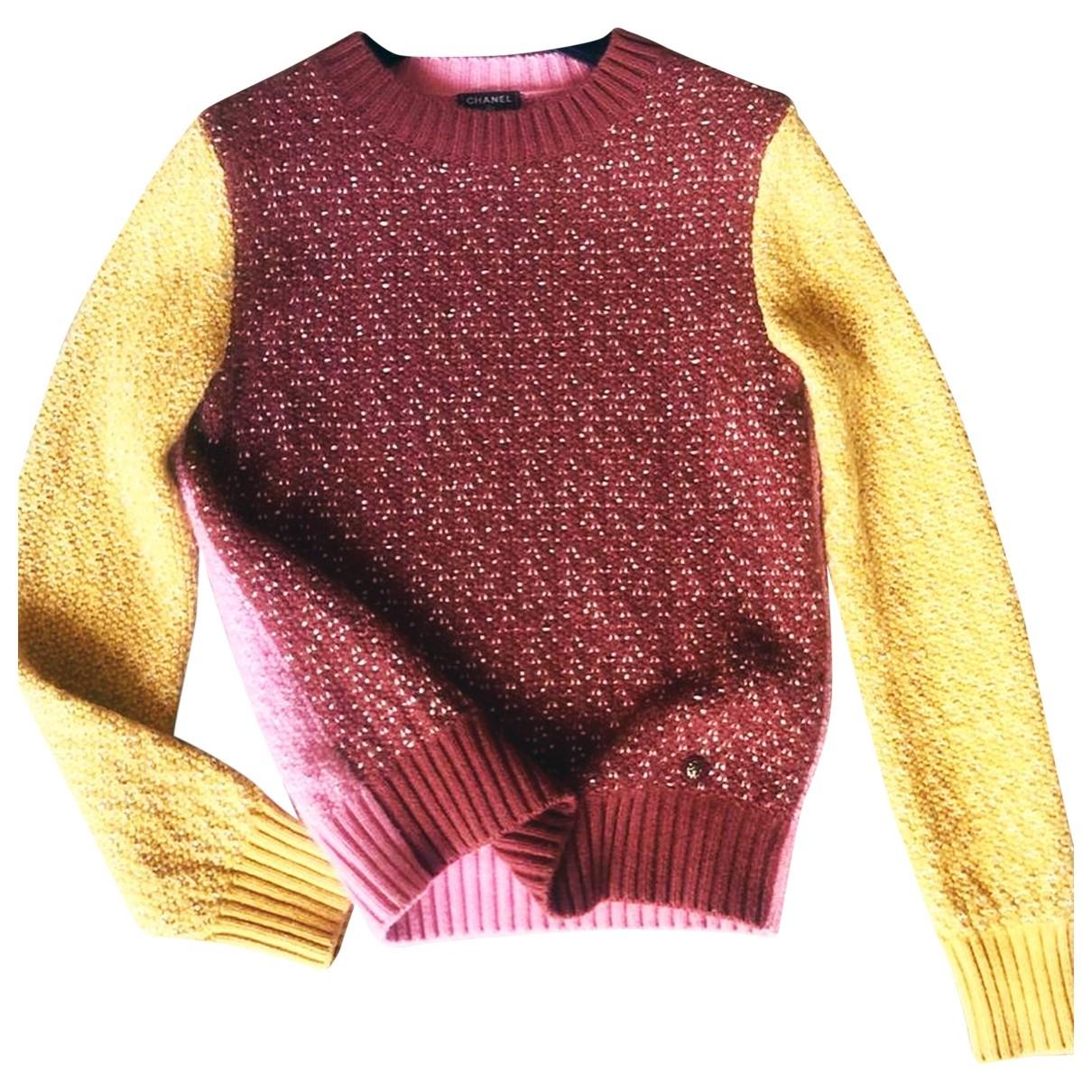 Chanel \N Pullover in  Bunt Kaschmir