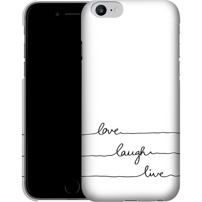 Apple iPhone 6 Plus Smartphone Huelle - Love, Laugh, Live von Mareike Bohmer
