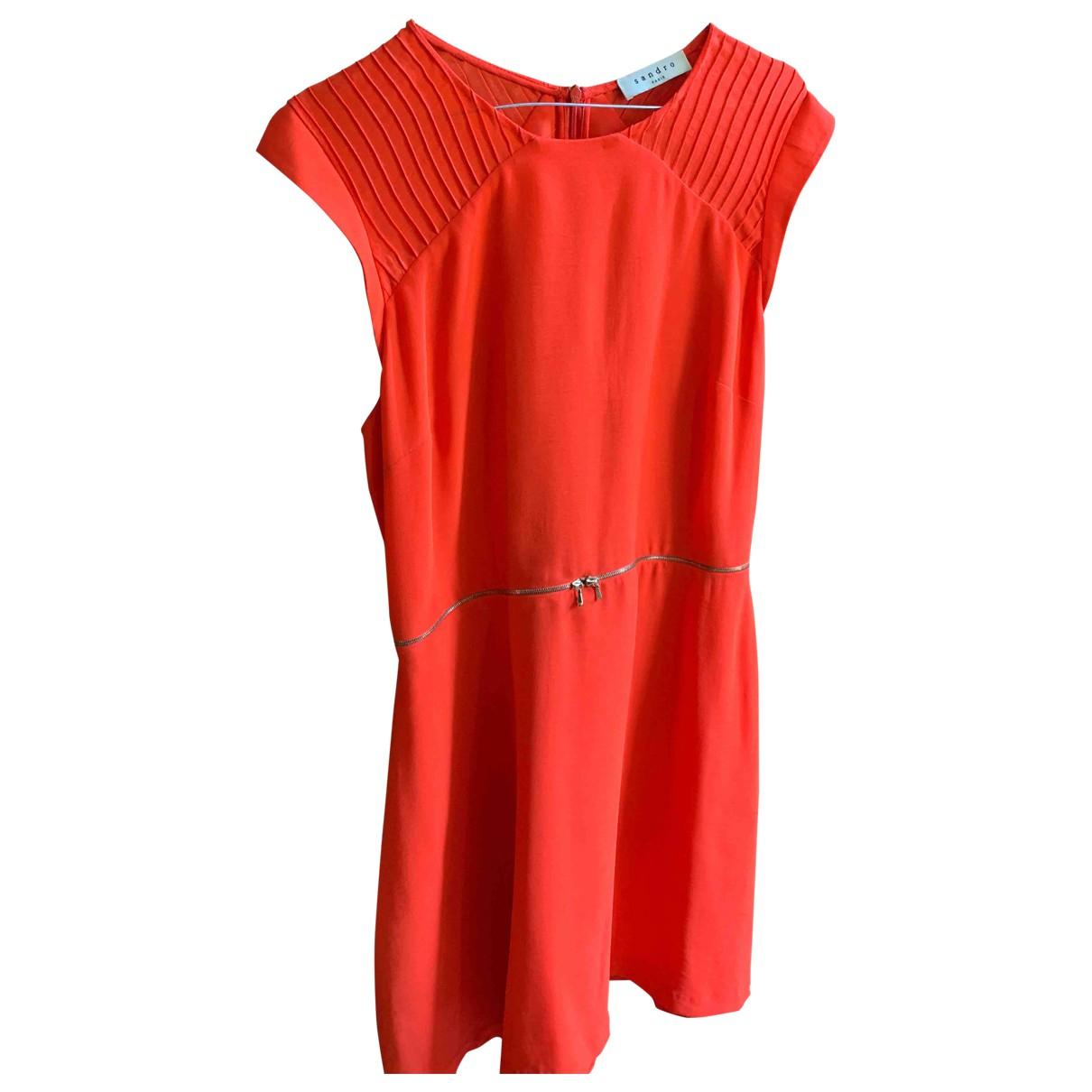 Sandro \N Red dress for Women 40 FR