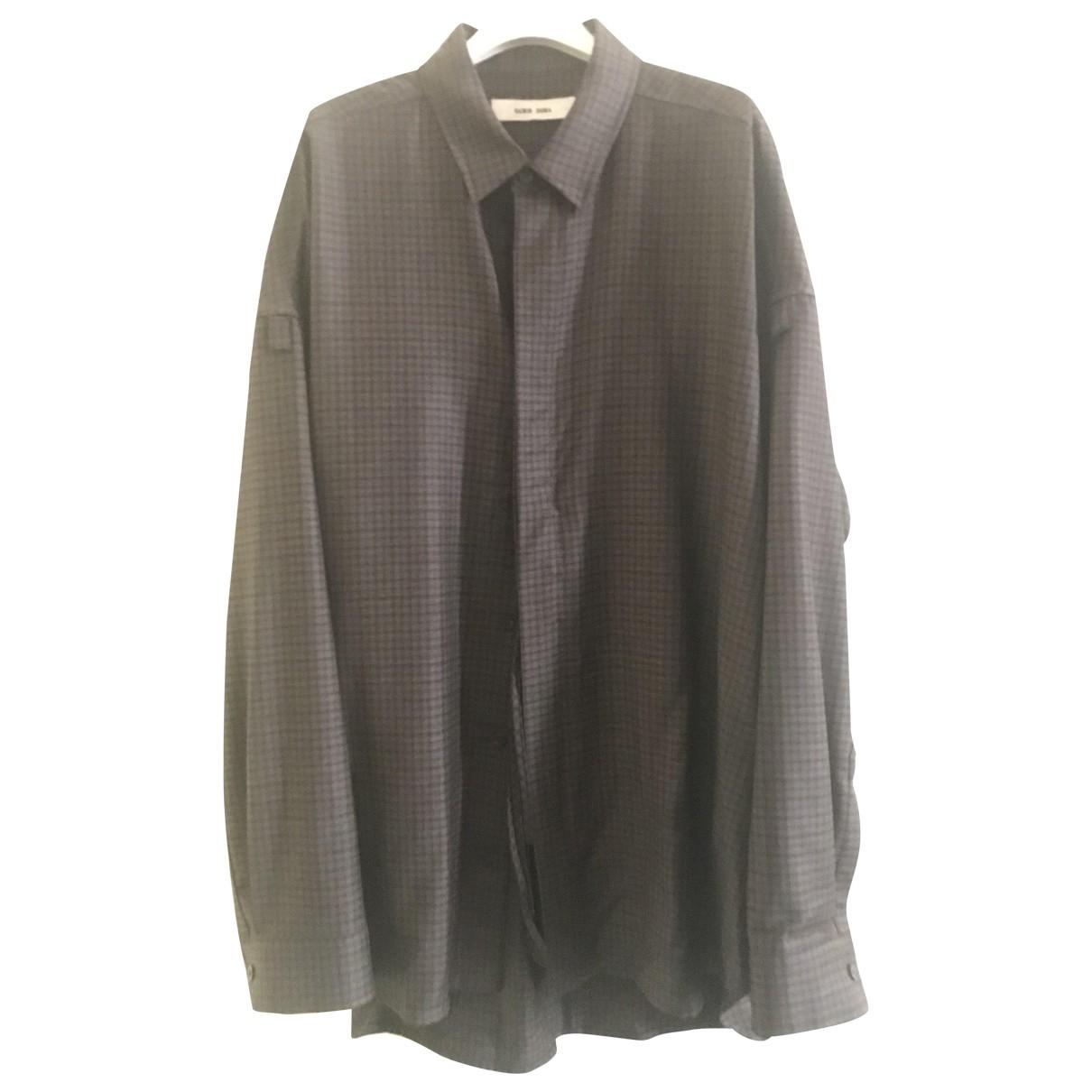 Damir Doma \N Hemden in  Braun Baumwolle