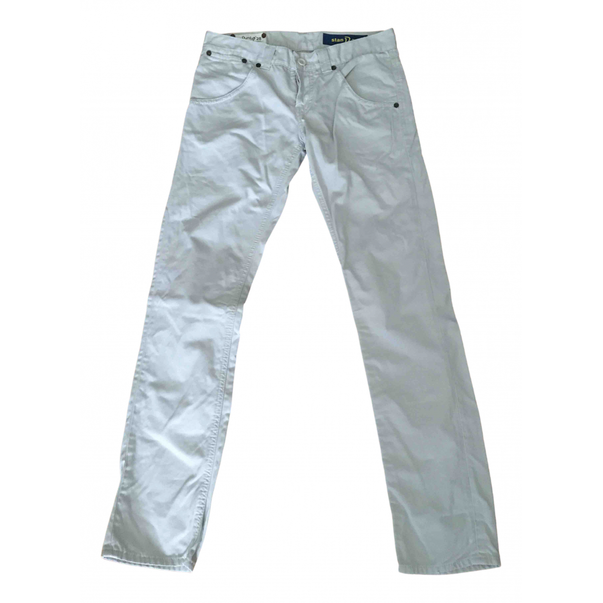 Dondup \N Grey Cotton Trousers for Men 28 UK - US