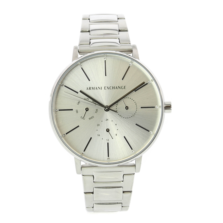 Armani Exchange Women's Ax5551 Silver Stainless-Steel Japanese Quartz Fashion Watch