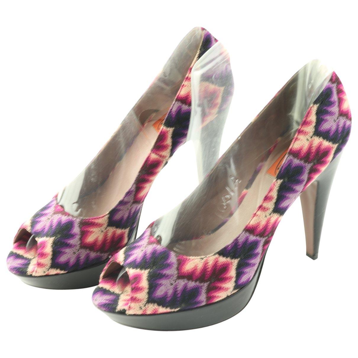 Missoni - Escarpins   pour femme en toile - violet