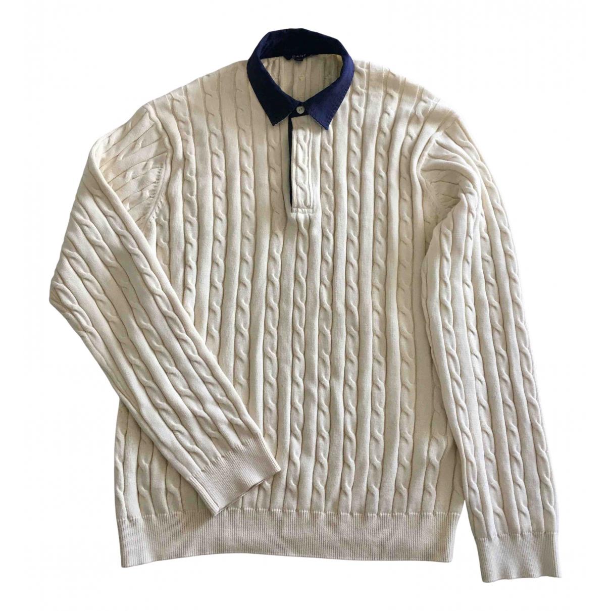Gant \N Pullover.Westen.Sweatshirts  in  Ecru Baumwolle