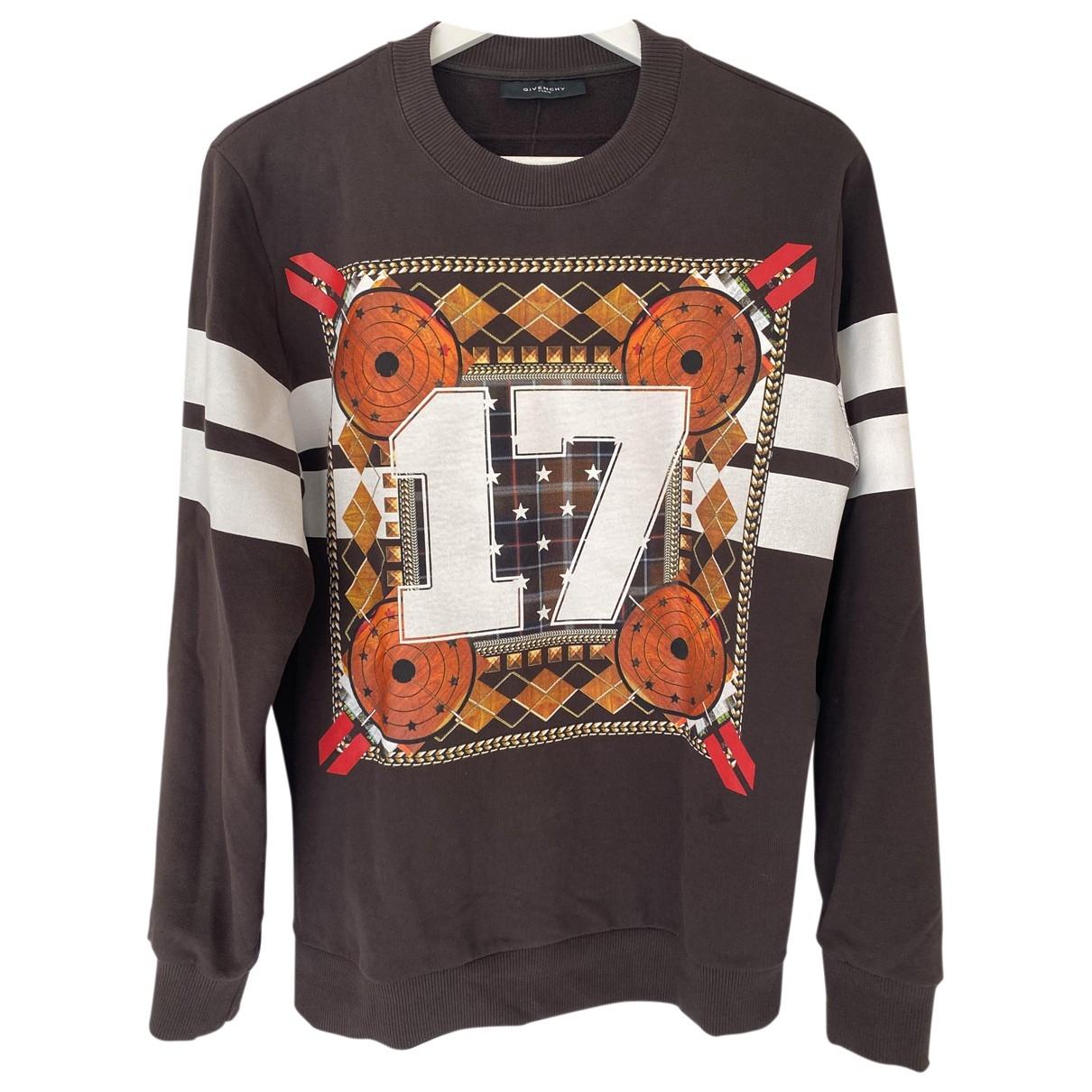 Givenchy - Pull   pour femme en coton - marron