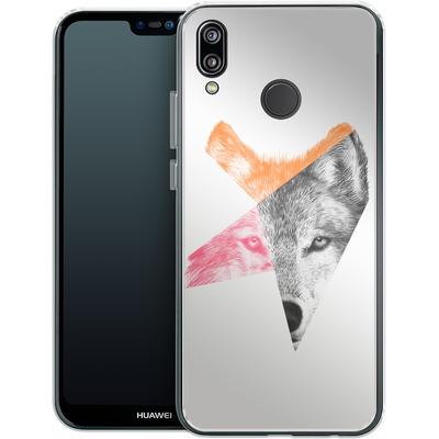 Huawei P20 Lite Silikon Handyhuelle - Wild von Eric Fan