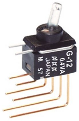 NKK Switches SPDT Toggle Switch, Latching, PCB