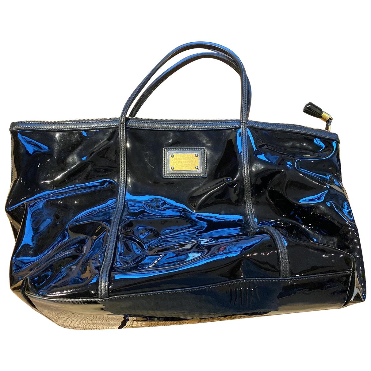 Dolce & Gabbana \N Black Patent leather handbag for Women \N