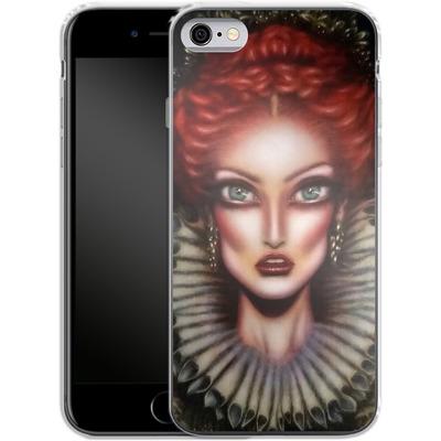 Apple iPhone 6s Silikon Handyhuelle - Queen Elizabeth I von Tiago Azevedo