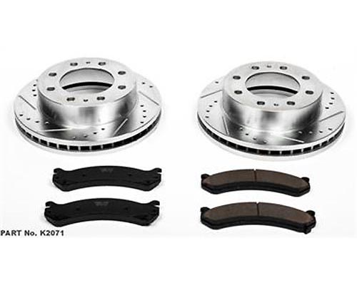 Power Stop K4423 Drilled & Slotted Brake Kit Front & Rear K4423