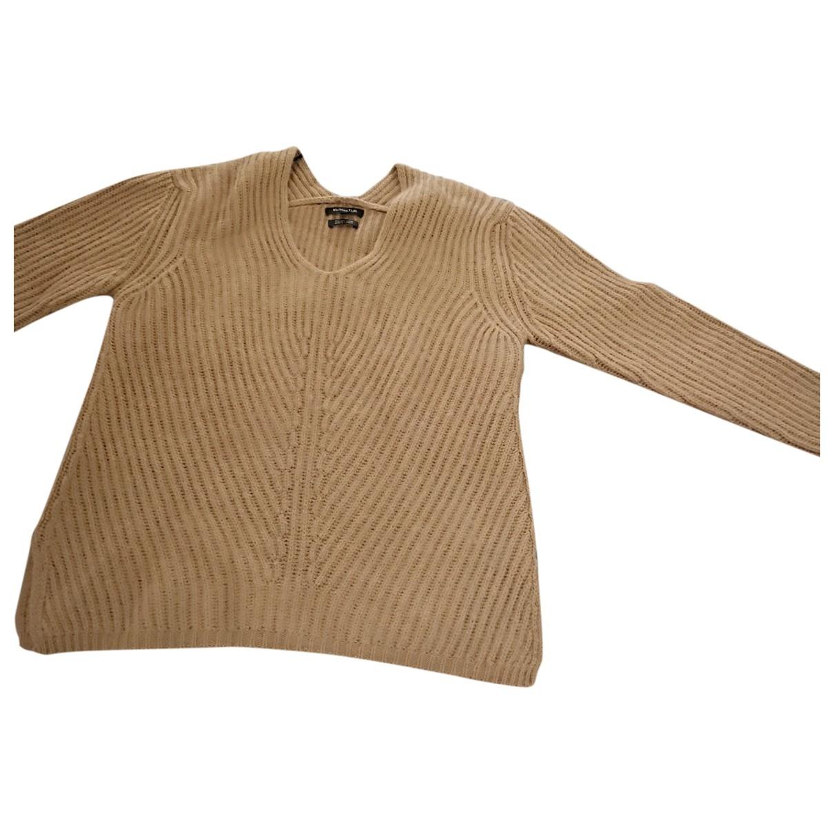 Massimo Dutti \N Top in  Braun Wolle