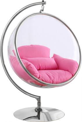 507PINK Luna Pink Durable Fabric Acrylic Swing
