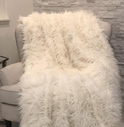 Mongolian Fur Collection PBSF1421-9090-TC 90L x 90W Full Faux Luxury