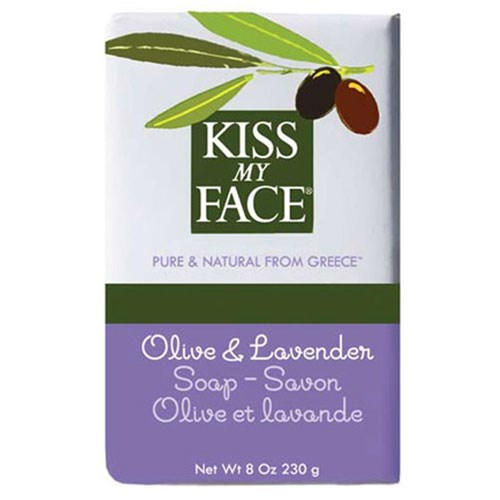 Bar Soap Olive & Lavender, 8 Oz by Kiss My Face