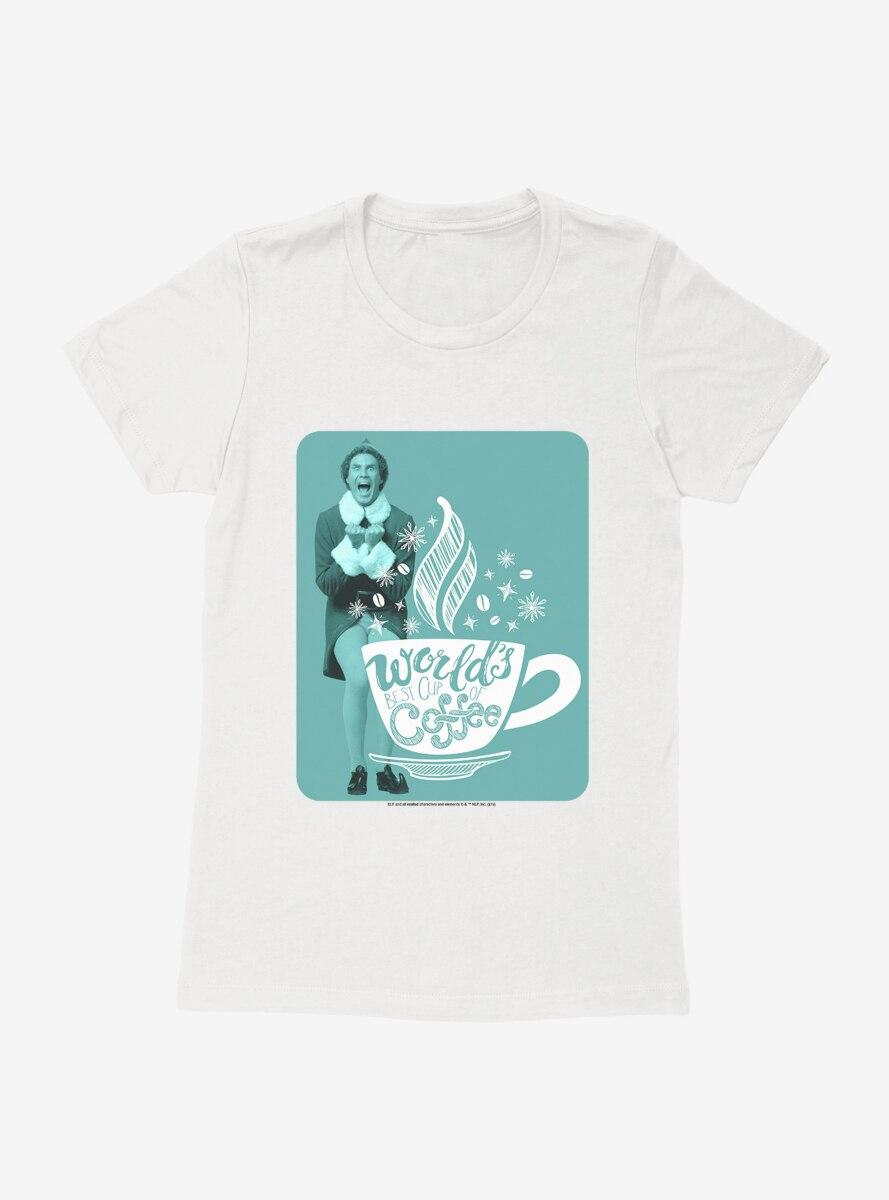 Elf World's Best Coffee Womens T-Shirt