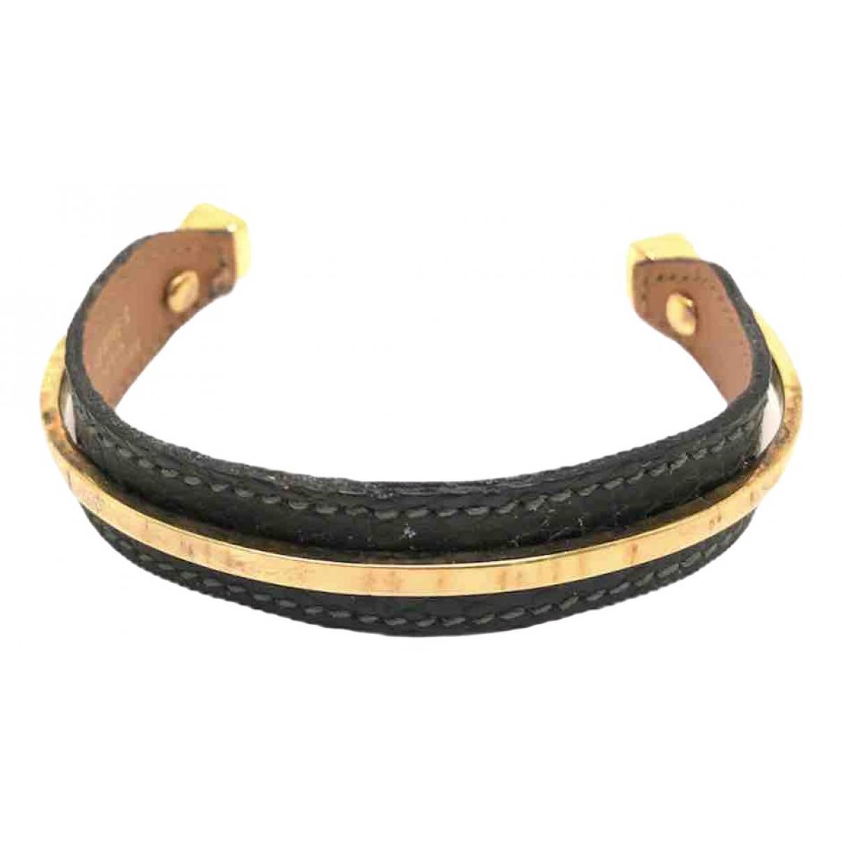 Hermes - Bracelet   pour femme en acier - vert