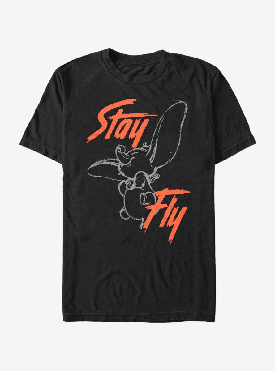 Disney Dumbo Stay Fly Street T-Shirt