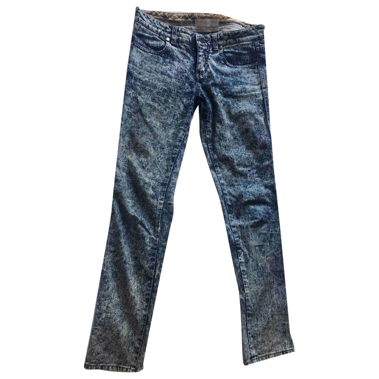Stella Mccartney \N Blue Cotton Jeans for Women 26 US