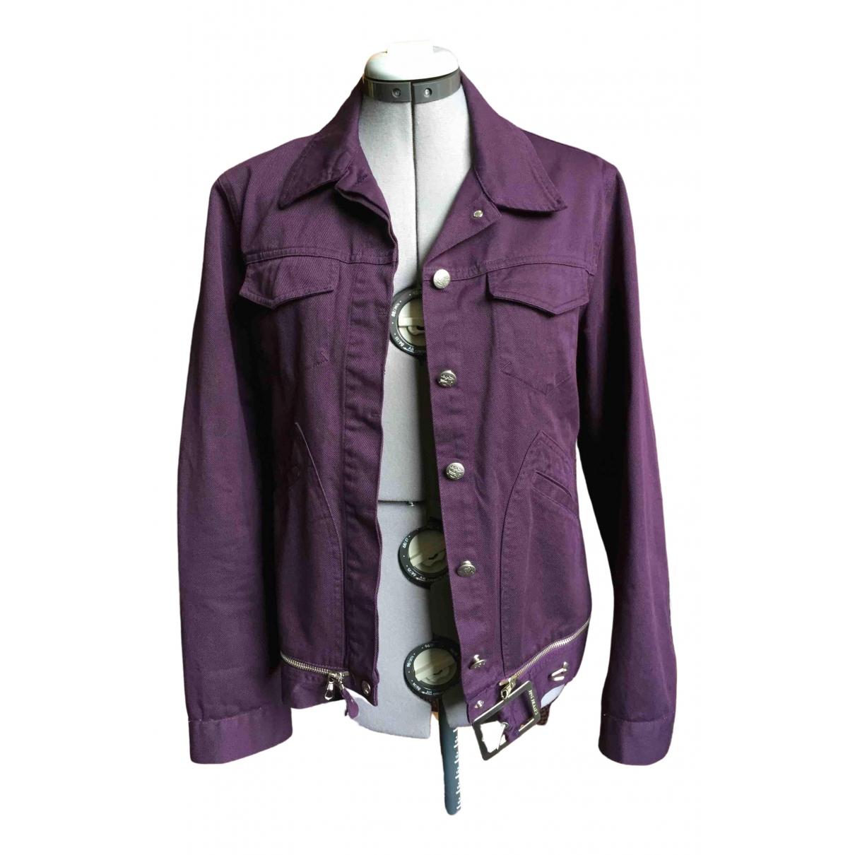 Jean Paul Gaultier \N Purple Cotton jacket for Women M International