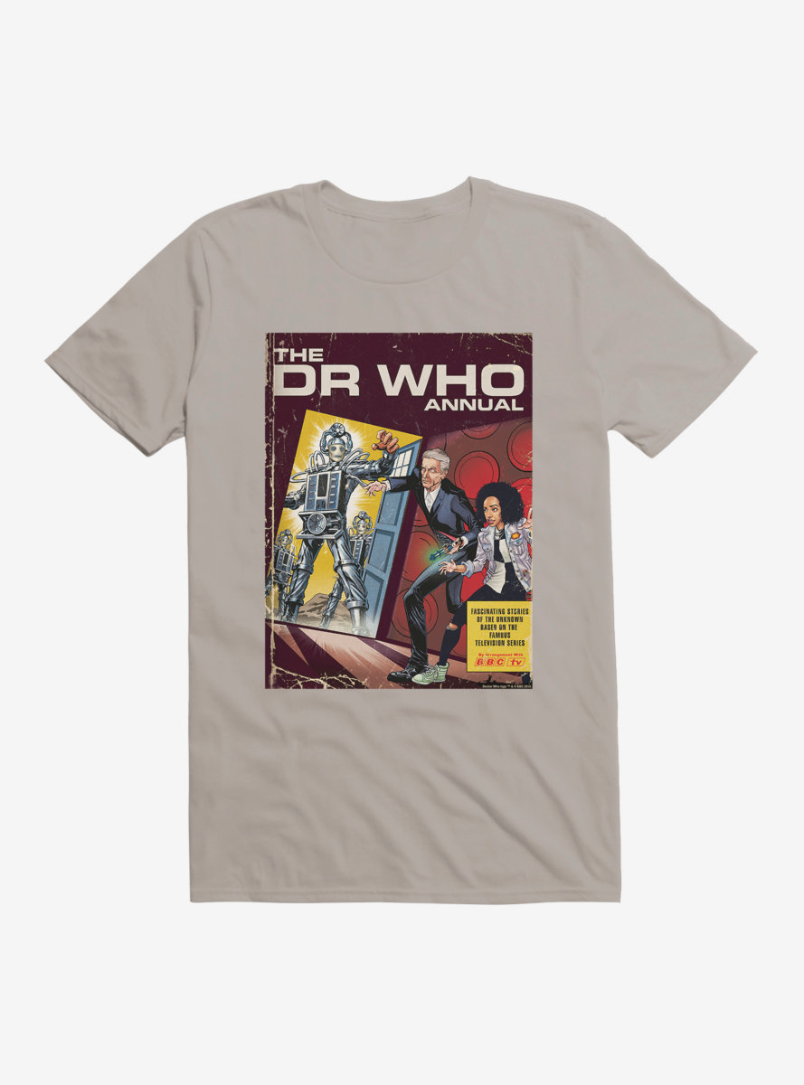 Doctor Who Cybermen Annual Comic Cover T-Shirt