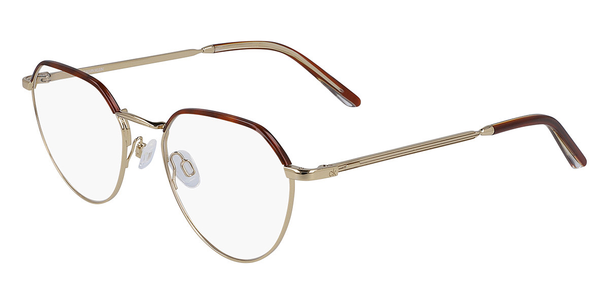 Calvin Klein CK20127 717 Men's Glasses Gold Size 51 - Free Lenses - HSA/FSA Insurance - Blue Light Block Available