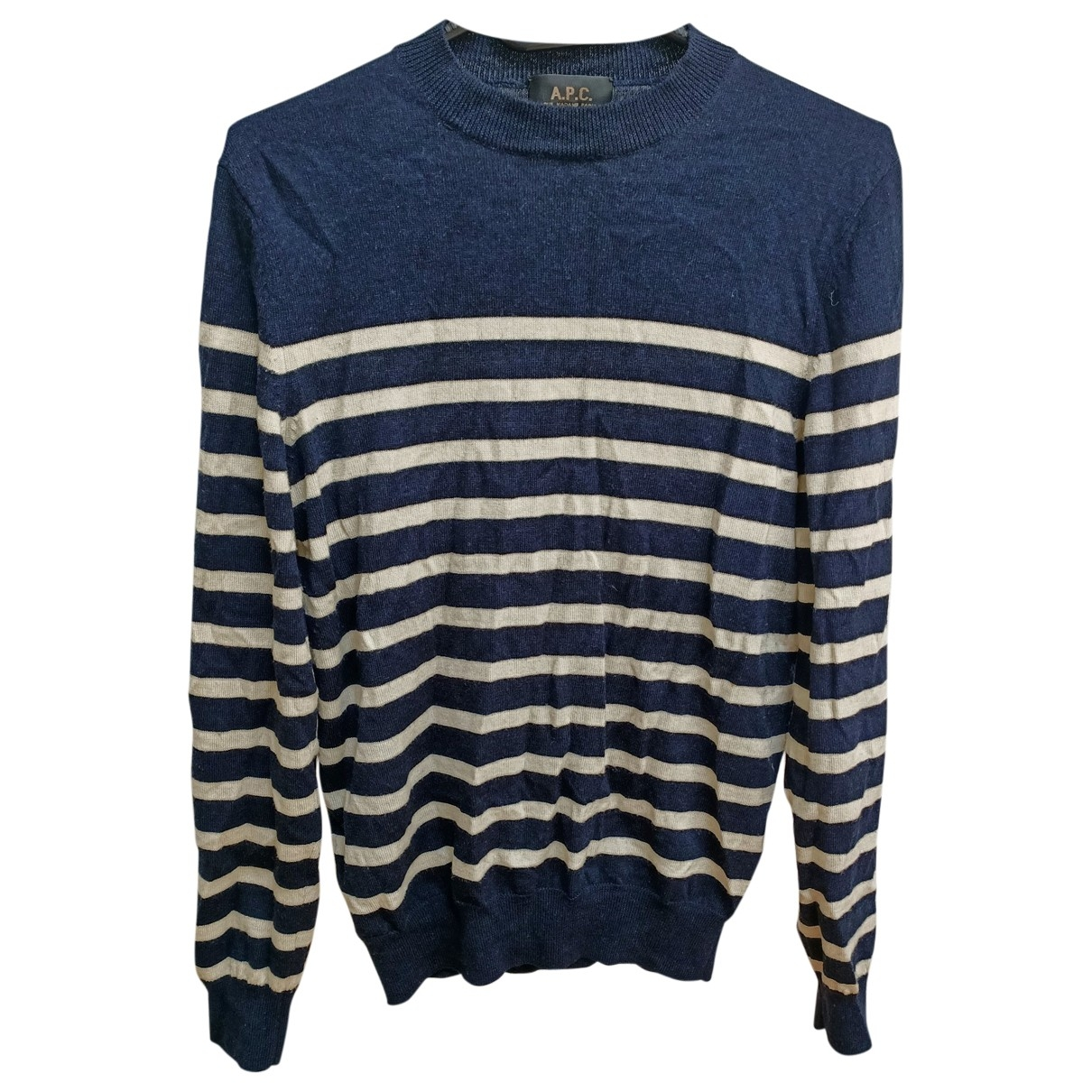 Apc \N Pullover.Westen.Sweatshirts  in  Marine Wolle