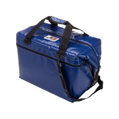 AO Coolers 48-Pack Vinyl Cooler (Royal Blue) - AOFI48RB