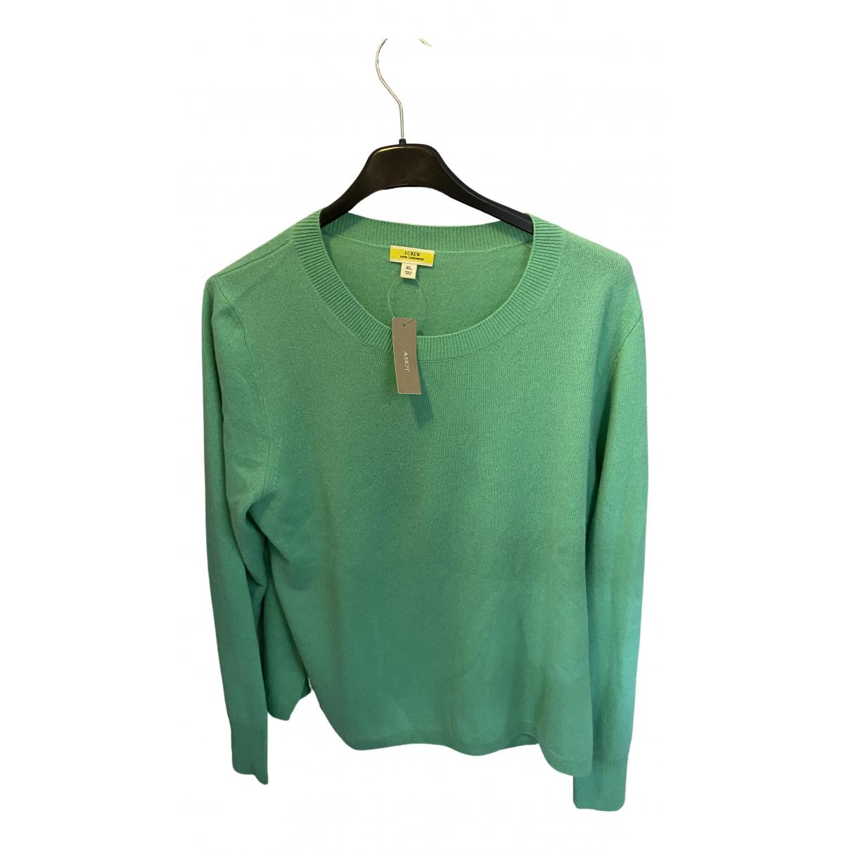 J.crew - Pull   pour femme en cachemire - vert