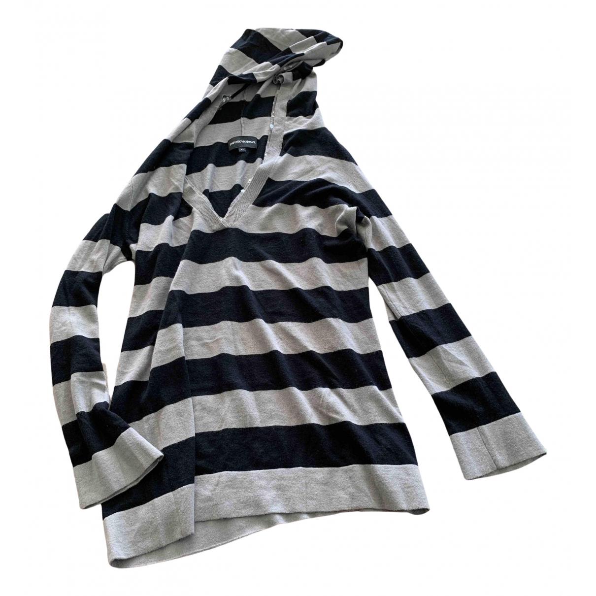 Emporio Armani \N Pullover in  Bunt Viskose
