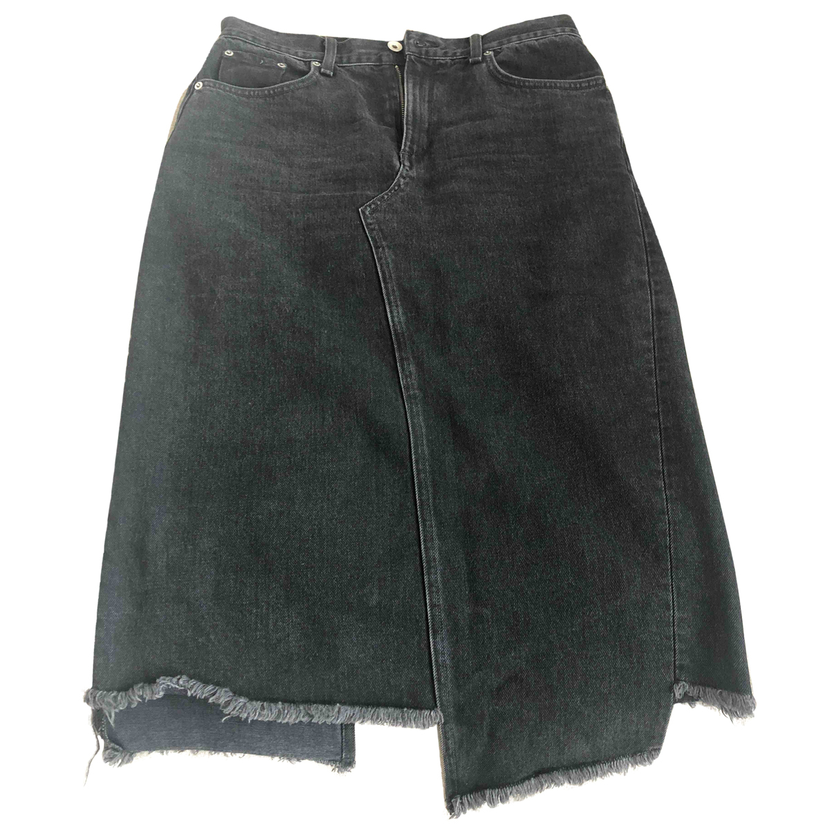 Rag & Bone - Jupe   pour femme en denim - noir