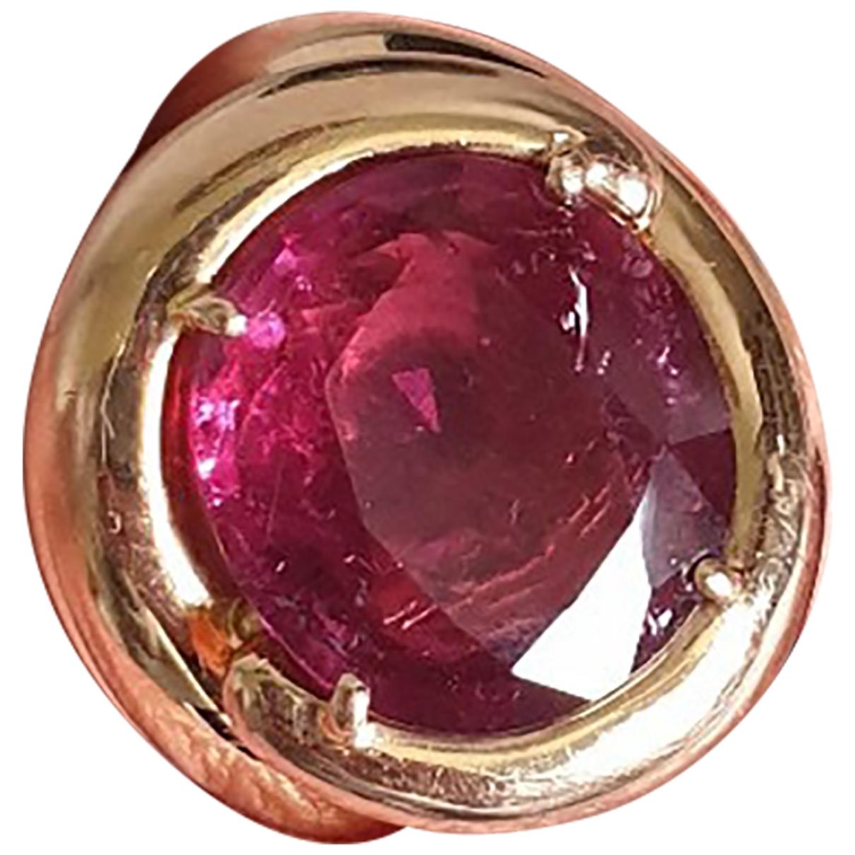 - Bague Bagues Cocktails pour femme en or rose - rose