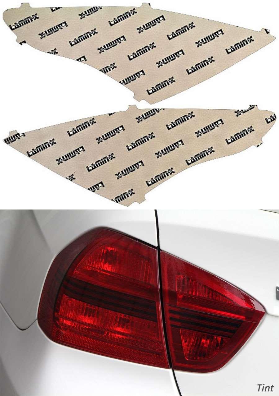 Nissan Versa 15-18 Tint Tail Light Covers Lamin-X N241T