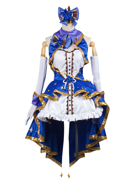 Milanoo The Idolmaster Cinderella Girls Shibuya Rin Cosplay Costume Stage Uniform Halloween