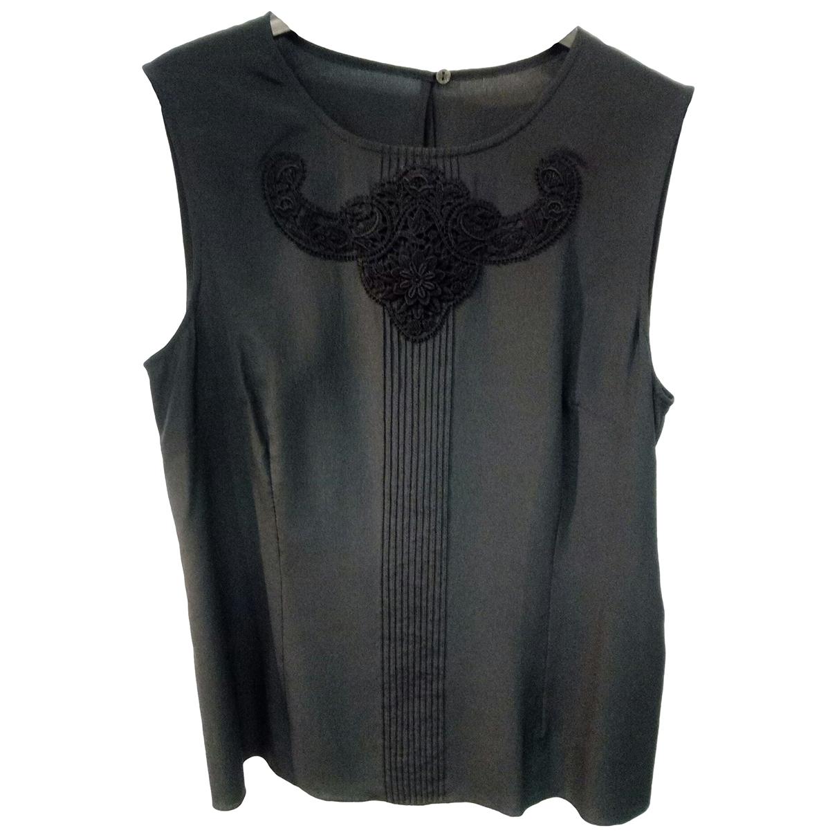 Dolce & Gabbana \N Top in  Schwarz Seide