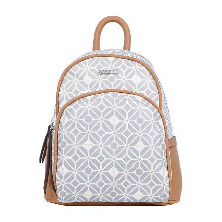 Rosetti Paola Mini Backpack Shoulder Bag, One Size , Gray