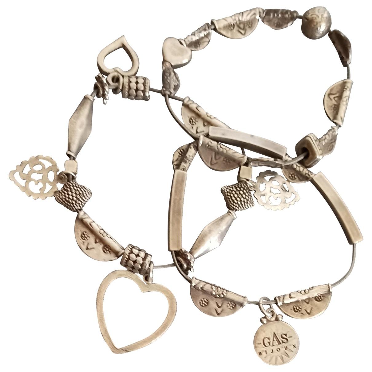 Gas - Bracelet Love pour femme en acier - argente