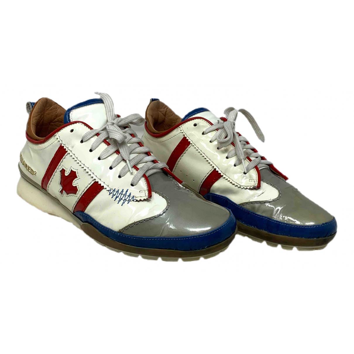 Dsquared2 \N Sneakers in  Bunt Lackleder