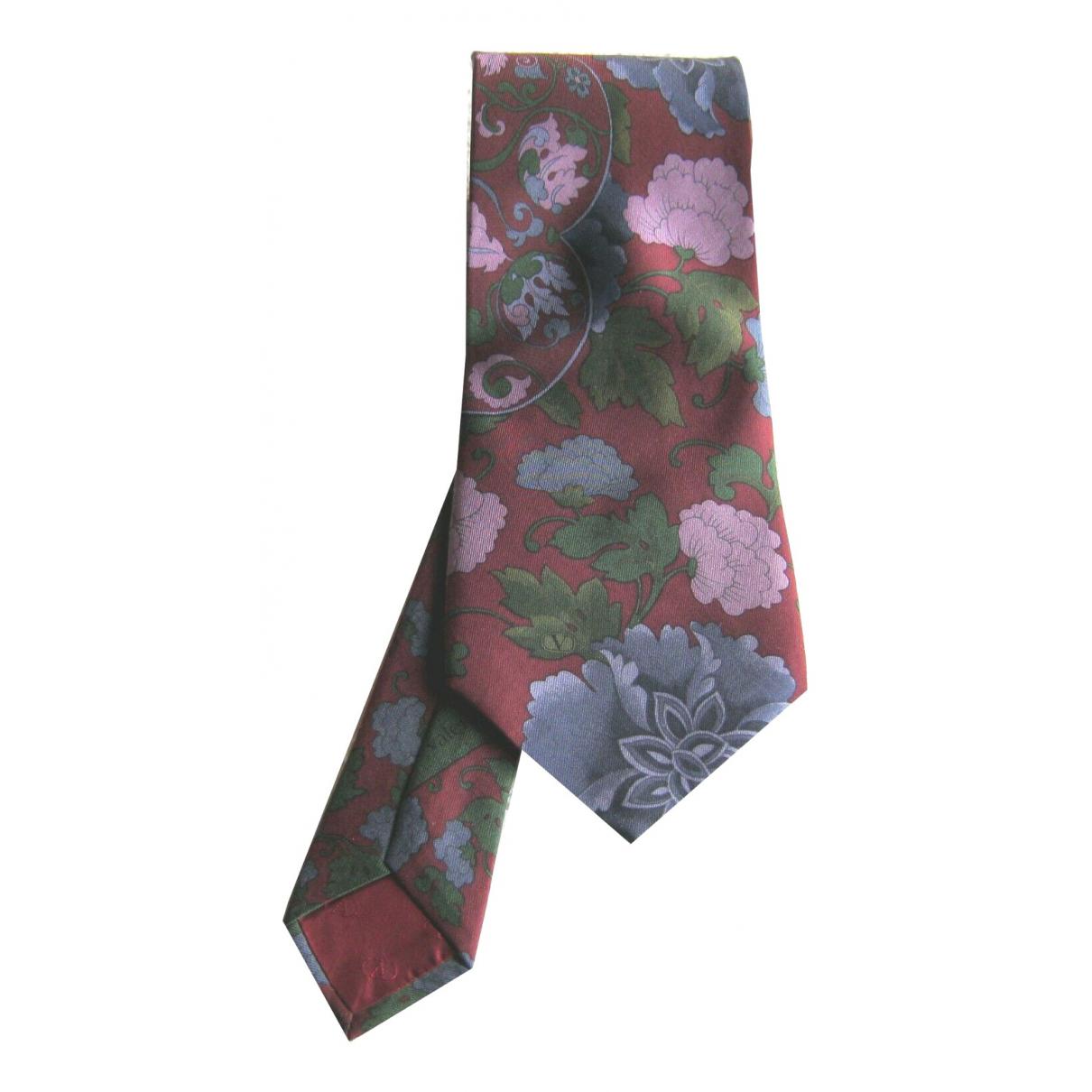 Valentino Garavani \N Krawatten in  Bunt Seide