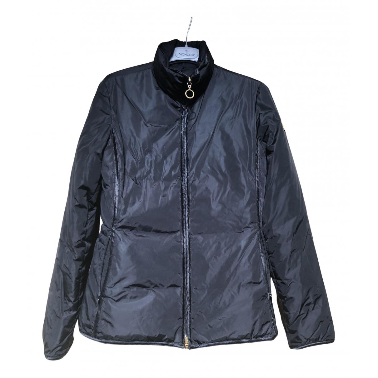 Moncler - Manteau   pour femme - noir