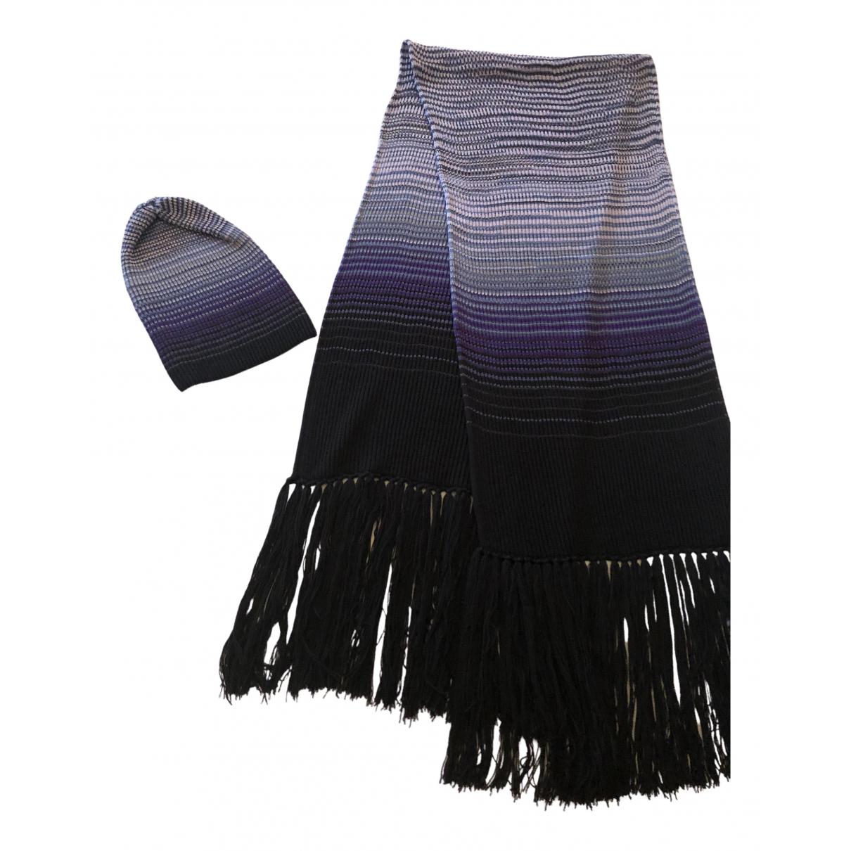 Missoni - Foulard   pour femme en laine - violet