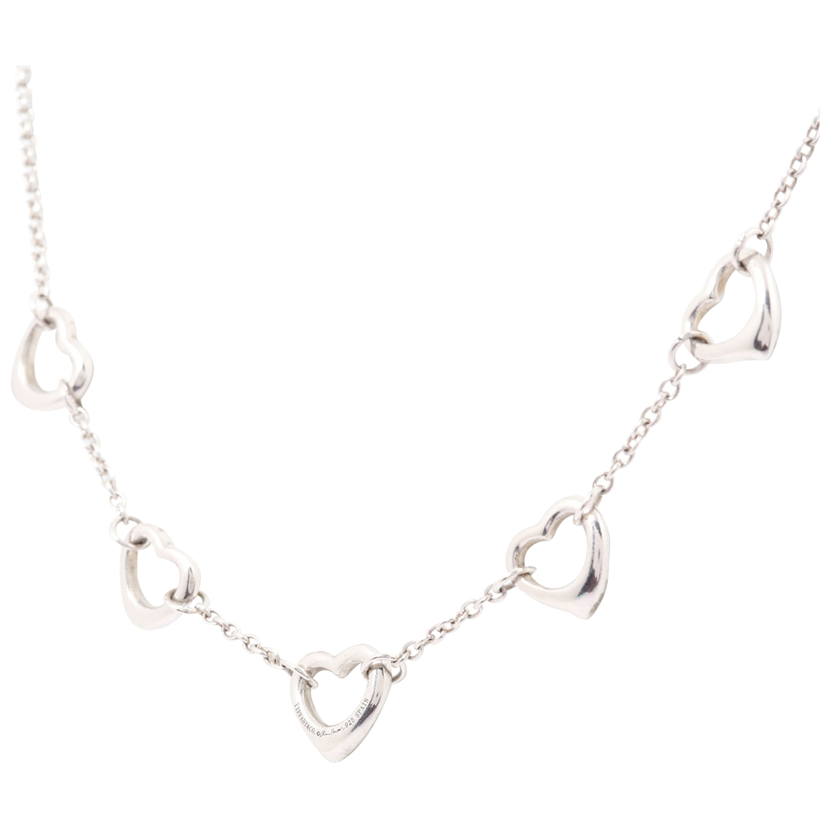 Collar Elsa Peretti  de Plata Tiffany & Co