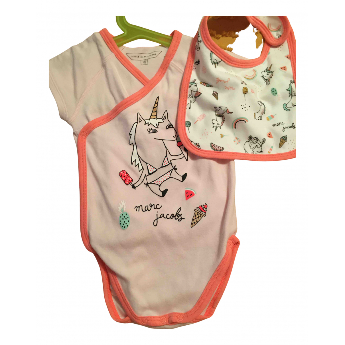 Little Marc Jacobs N Pink Cotton Outfits for Kids 12 months - up to 74cm FR